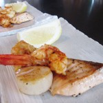 RT - King prawn salmon and scallop