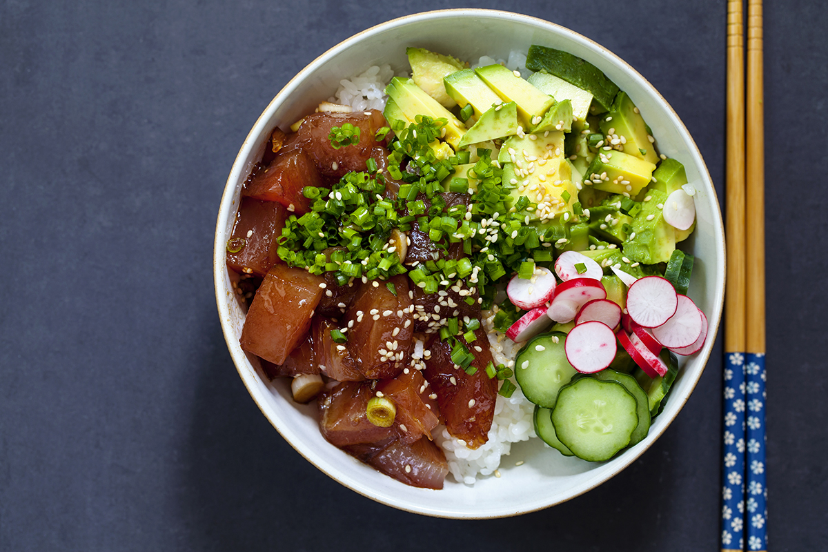 The Art Of Making The Perfect Poke Bowl Kobe Jones